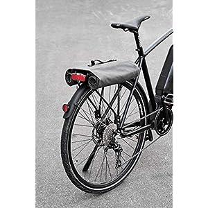 Prophete montaje de portaequipaje, volumen: 30l Alforjas para bicicleta, Gris/Marrón, M, Colores surtidos