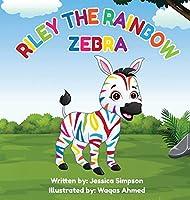 Riley the Rainbow Zebra