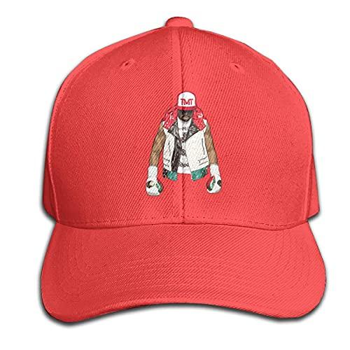 Yearinspace Floyd-Mayweather Logo TMT Pure Color Peaked Cap...