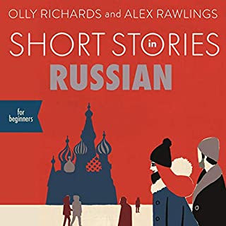 Short Stories in Russian for Beginners audiobook cover art