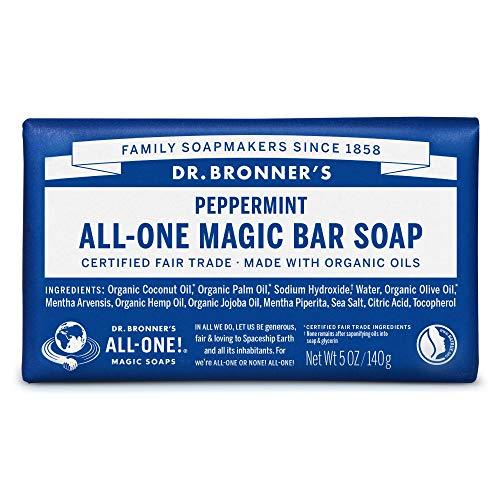 ネイチャーズウェイ ドクターブロナー マジックソープバー magic soap 石鹸 ペパーミント 140g ネイチャーズウェイ