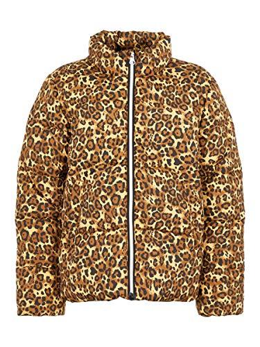 NAME IT Nkfmisti Jacket Leo Chaqueta, Multicolor (Bronze Bro