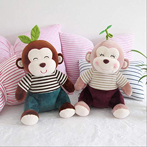 Aappop Knuffel Lappenpop Poppaar Paar Een Paar Liefdesgeschenken 85 cm Een paar apen