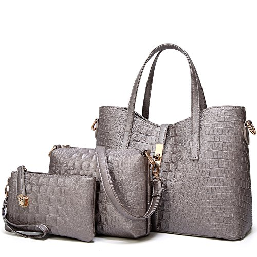 SYKT Purses and Handbags for Womens Satchel Shoulder Tote Bags Wallets Size: Medium