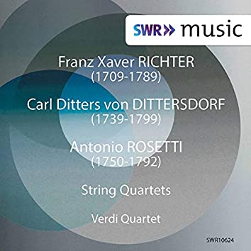 Richter, Dittersdorf & Rosetti: String Quartets