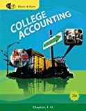 Bundle: College Accounting, Chapters 1-15, 20th + Study Guide with Working Papers, Chapters 1-9 and 10-15 (with Combination Journal Module) + CengageNOW Printed Access Card, Ch 1-15