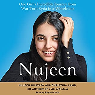 Nujeen audiobook cover art