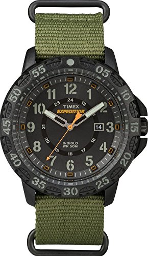 Timex TW4B03600 Orologio da Polso, Quadrante Analogico da Uomo, Cinturino...