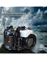 Seafrogs do Sony a6500 a6400 a6300 a6000 195FT/60M podwodna kamera nurkowanie wodoodporna obudowa