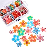 314 Pieces Flowers Cupcake Toppers Wedding...