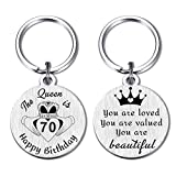 70th Birthday Gifts Ideas for Women, Happy 70 Years Old Birthday Party Favors