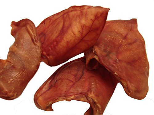 Sawmill Creek Smokehouse Pig Ears 25 Pack Jumbos Sourced and Made in USA Human...