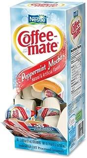 NESTLE 76060 Peppermint Mocha Creamer, 0.375oz, 50/Box