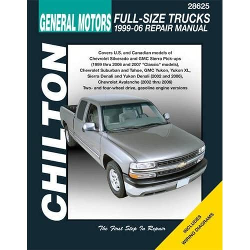 GM Full-Size Trucks, 1999-06 Repair Manual (Chilton's Total Car Care on silverado stereo wiring diagram, silverado radio wiring diagram, silverado trailer brake wiring diagram, silverado o2 wiring harness,