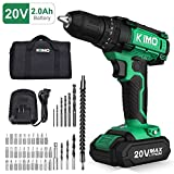 Best Cordless Drills - Cordless Drill Driver Kit - 20V Max Impact Review