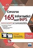 Concorso 165 Informatici nell'INPS: MANUALE e QUESITI per la prova preselettiva