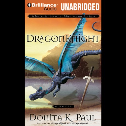 DragonKnight audiobook cover art