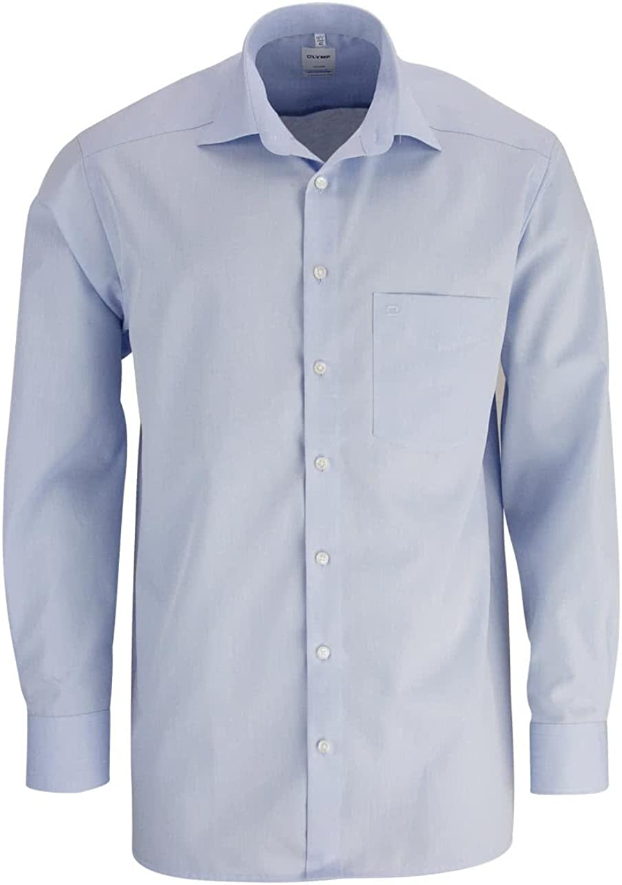OLYMP Camisa de manga larga Chambray Petrol 0304/64/16