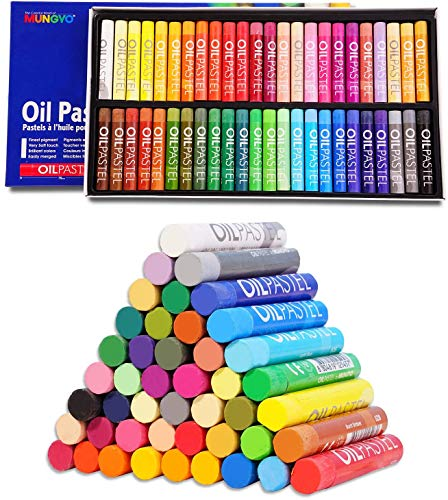 Drawing Pastels Chalk Pastels Art Crayons Non-Toxic Soft Oil Pastels Washable Round Pastel Sticks for Artist and Professional Beginners Students Kids DIY Crafting Painting Drawing Graffiti Artwork