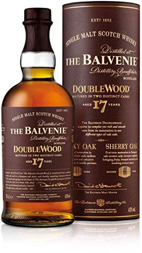 The Balvenie Doublewood Single Malt Scotch Whisky 17 Jahre mit Geschenkverpackung (1 x 0,7 l)