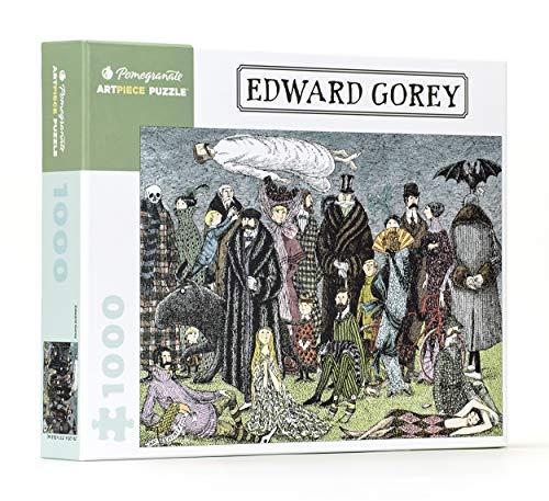 Compare Textbook Prices for Edward Gorey - Edward Gorey: 1,000 Piece Puzzle Pomegranate Artpiece Puzzle Puzzle Edition ISBN 9780764967733 by Pomegranate Communications Inc.
