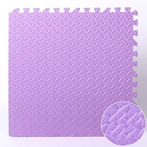Soft Play Matten Für Kinder Pure Color Eva-Schaum-Matten Bodenbelag Baby-Schaum-Spielmatte Baby-Kinder Fußmatten Crawl Mat,B