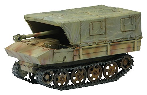 Dragon Models PaK 40/4 Auf RSO Mit Allwetterverdeck - Smart Kit (1/35 Scale), 7.5cm