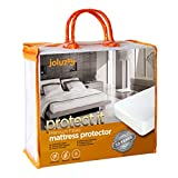 joluzzy Waterproof Mattress Protector - Cotton Terry Surface -...