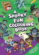 Creepy, Scary, Boo! A Spooky Fun Colouring Book