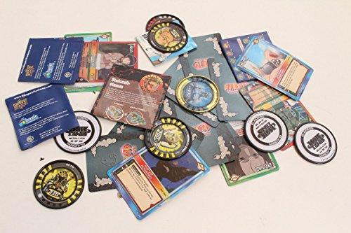 Unbekannt konvolut de Naruto Parte Tarjetas y slingers War Titans medallones
