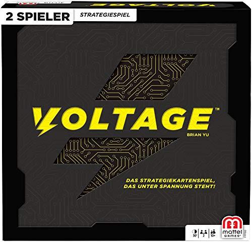 Mattel Games FPP88 - Voltage Schnelles Strategiespiel für Zwei Spieler, Spieldauer 20 - 30 Minuten, Strategiespiele ab 10 Jahren