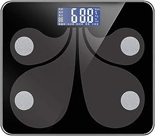 UYZ Báscula de baño Digital Bluetooth Profesional Báscula de Peso Inteligente Báscula de Peso Piso del hogar Báscula Antideslizante Calidad Duradera