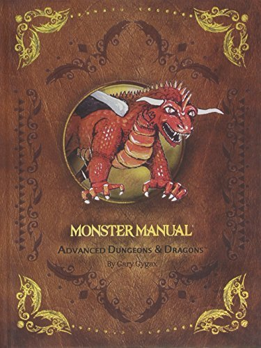 Price comparison product image D&D 1st Edition Premium Monster Manual (Dungeons & Dragons Guide)