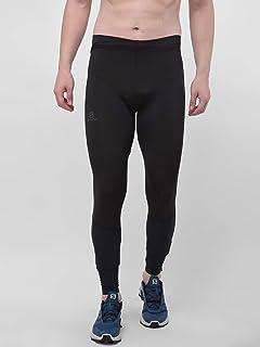 SALOMON Tights Pantaloni Aderenti da Corsa, Confortevoli, per Uomo