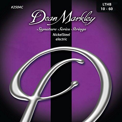 Dean Markley DM-2504C-LTHB - Juego de cuerdas para guitarra eléctrica de acero...