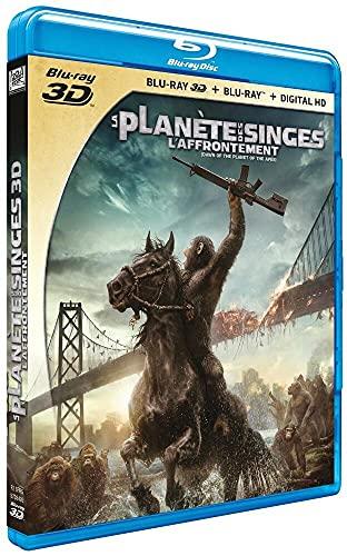 La Planete Des Singes : L'Affrontement [Combo Blu-Ray 3D + Blu-Ray 2D] (2 Blu-Ray) [Edizione: Francia];Dawn of the Planet of the Apes