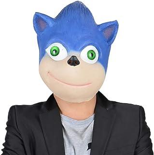 Baisong Sonic el erizo máscara Sonic Cosplay máscara Halloween cabeza completa máscara accesorios de disfraz