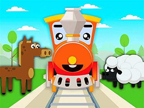 Learning animals together with the Train