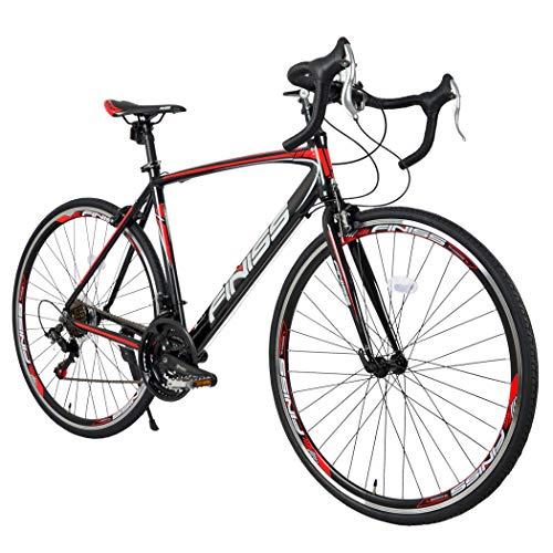 Sale!! Honesun City Road Bike Urban Commuter Racing Bicycle Aluminum 700x28c 21 Speed for Men Women