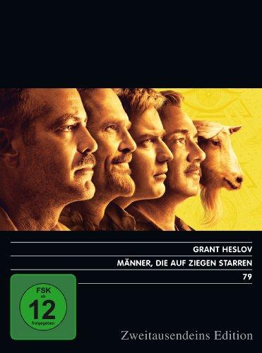 Männer, die auf Ziegen starren. Zweitausendeins Edition Film 79.
