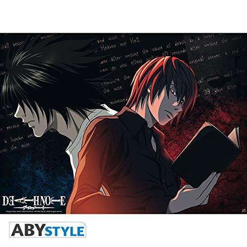 """ABYstyle - DEATH NOTE - Poster """"L VS Light"""" (52x38)"""