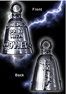 LINEMEN Guardian Bell Motorcycle - Harley Accessory HD Gremlin NEW Riding Bell Key Ring