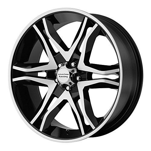 American Racing Mainline Wheel with Gloss Black Machined (20x8.5'/5x4.5')