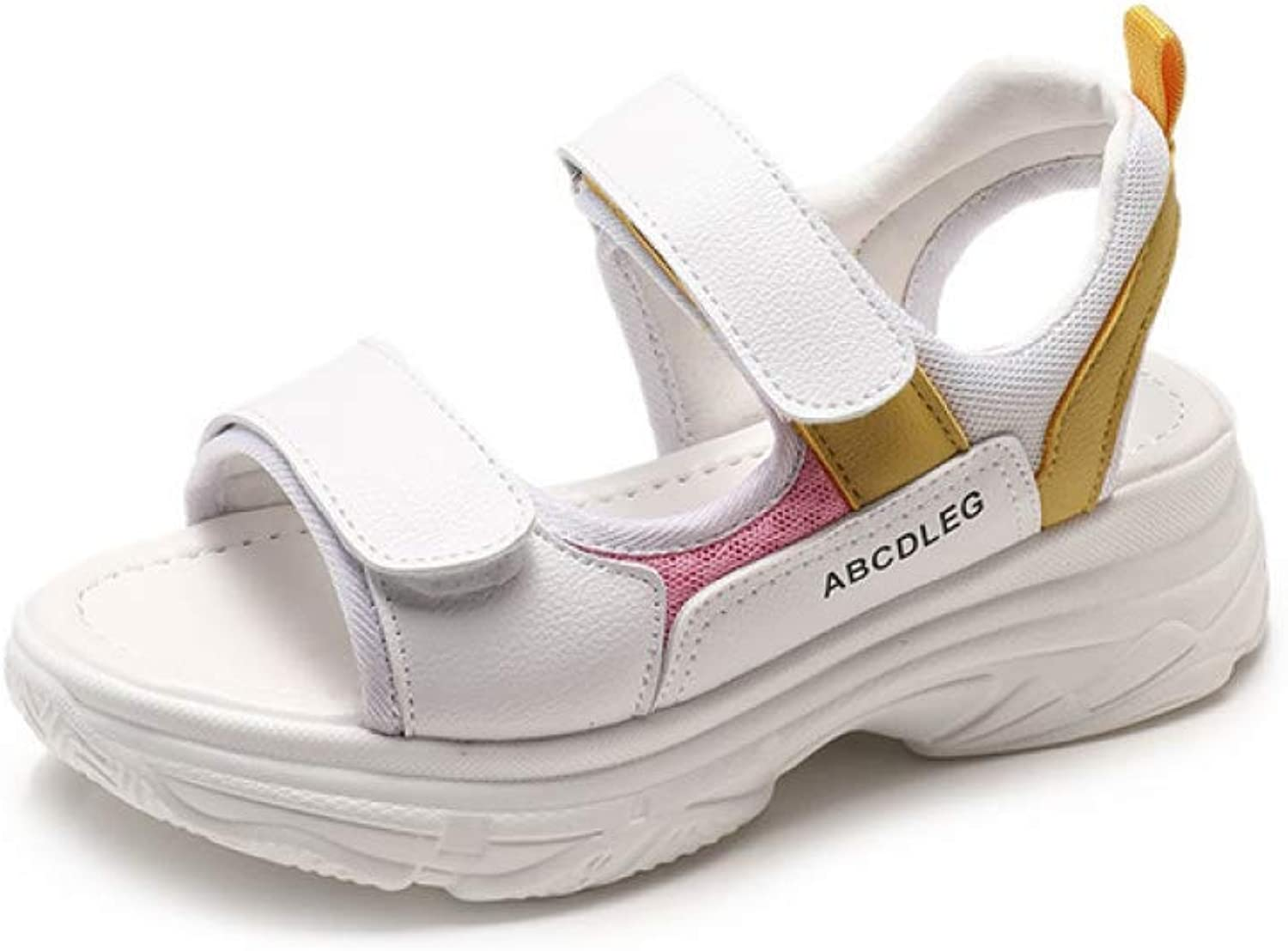 MEIZOKEN Women Fashion Platform Chunky Sandals Comfort Non-Slip Casual Sport Sandal shoes
