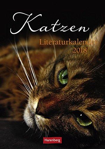Katzen Literaturkalender - Kalender 2018