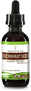 Buckwheat Seed Tincture Alcohol Liquid Extract, Organic Buckwheat (Fagopyrum Esculentum) Dried Sprouting Seed (2 FL OZ)