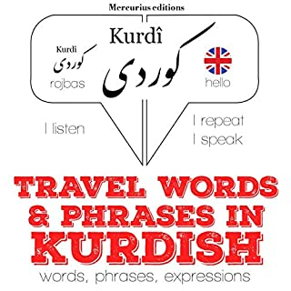 Travel words and phrases in Kurdish cover art