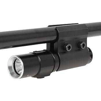 Odepro AS004 Support de Rail de picatine r/églable Support de Lampe de Poche Monte pour Tube diametres Gamme de 25.4mm ~ 30mm