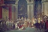 Artland Alte Meister Kunst Wandtattoo Jacques-Louis David Bilder Klassizismus 60 x 90 cm Krönung Napoleons Notre Dame Paris Kunstdruck Klebefolie Gemälde R0HF