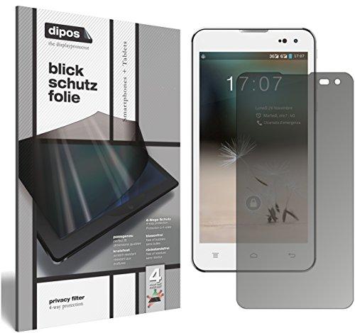 dipos I Blickschutzfolie matt kompatibel mit Hisense HS-U971AE Sichtschutz-Folie Bildschirm-Schutzfolie Privacy-Filter
